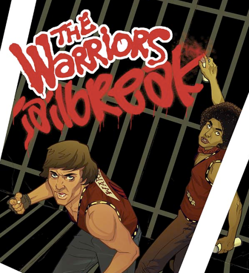 """""""The Warriors: Jailbreak"""" #1 - Cover"""