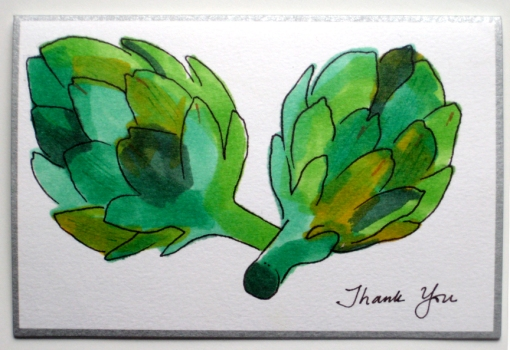 Thank You - artichoke