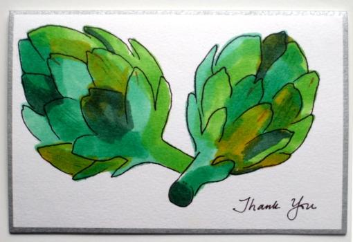 Thank You - artichoke